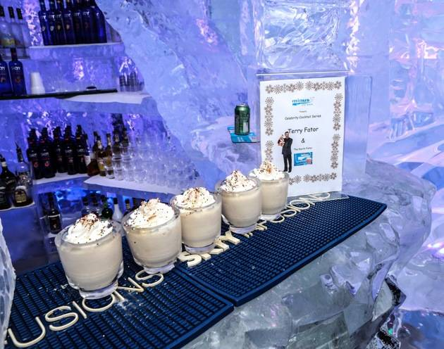 Minus5 Ice Bar Celebrity Cocktail with Terry Fator - Darth Fator