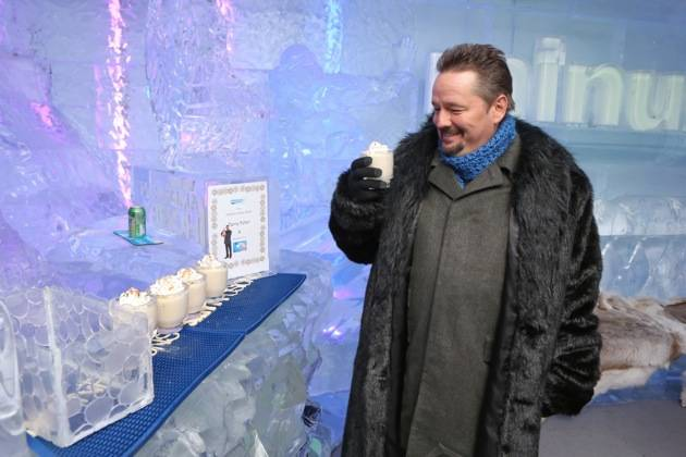 Minus5 Ice Bar Celebrity Cocktail with Terry Fator - with Darth Fator