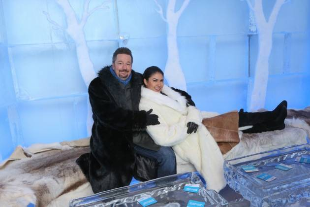 Minus5 Ice Bar Celebrity Cocktail with Terry Fator - with Taylor Makakoa 1