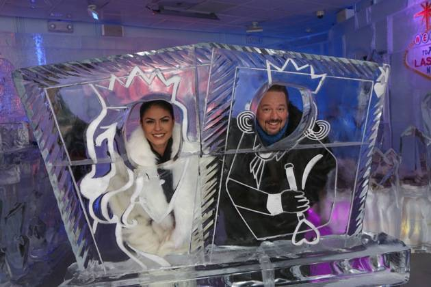Minus5 Ice Bar Celebrity Cocktail with Terry Fator - with Taylor Makakoa 3