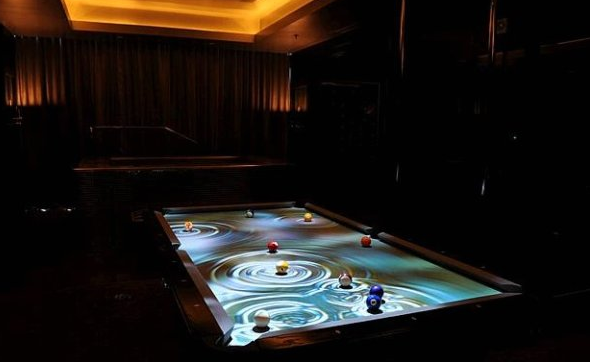 Interactive Pool Table, ObscuraDigital.com, $25,000