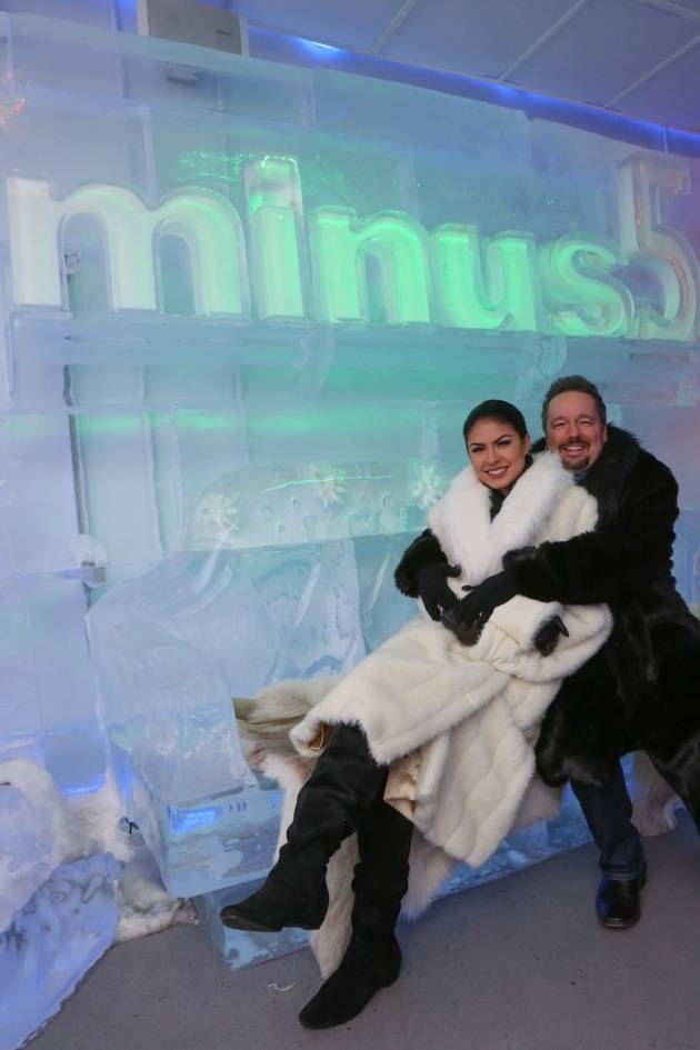 Terry and Taylor Fator at Minus5 Winter Wonderland 2