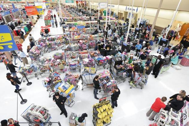 XS and Tryst - Toy Drive - shopping carts - 12.5.12
