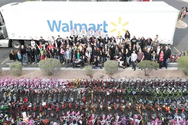 XS and Tryst staff - Toy Drive - 12.5.12