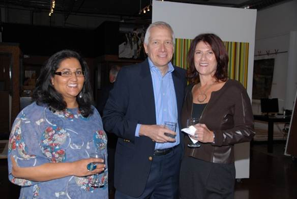 Neeta Patel, Mike Hawman and Rose Hawman