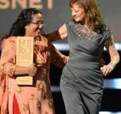 Pushpa Basnet + Susan Sarandon