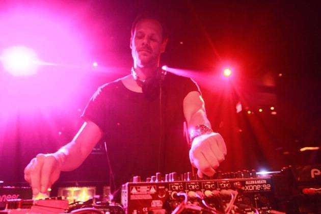 1.12.13 Adam Beyer at Body English Nightclub & Afterhours in Hard Rock Hotel & Casino, credit Hew Burney