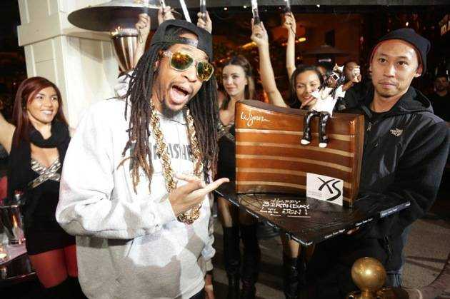 1.21.13 – Lil Jon – birthday at XS – photo credit Danny Mahoney