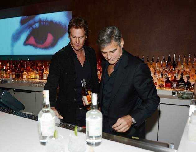 Casamigos Tequila Founders George Clooney, Rande Gerber and Partner Mike Meldman Celebrate The Launch of Casamigos At Andrea's