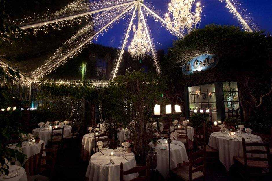 Top 5 most romantic restaurants in los angeles haute living for Romantic restaurants in california
