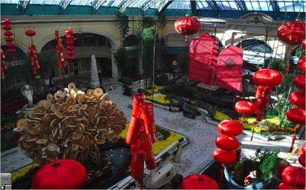 Bellagio Conservatory Chinese New Year