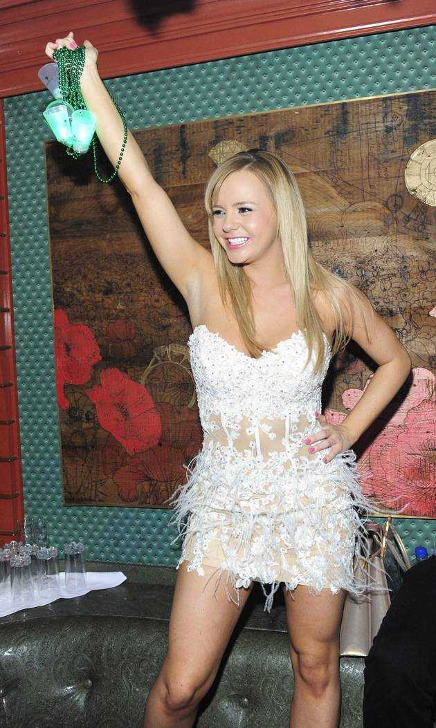 Bree Olson Hosts The Act Las Vegas During AVN