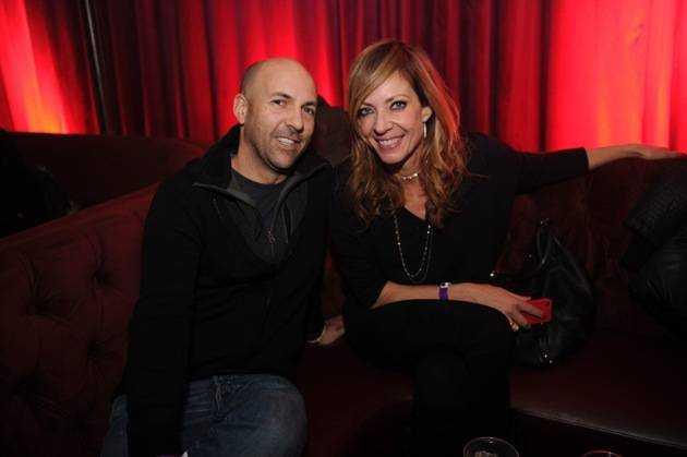 Chris Henze & Allison Janney at Marquee + Stella Artois present TAO Nightclub Sundance