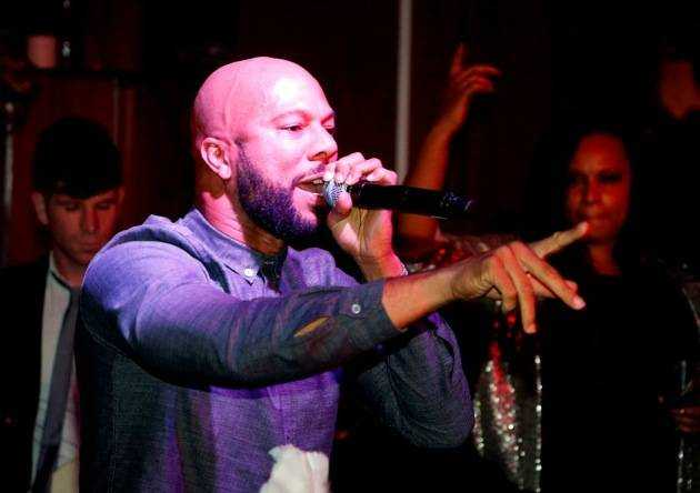 Common NYE Performance at Hyde Bellagio, Las Vegas 12.31.12