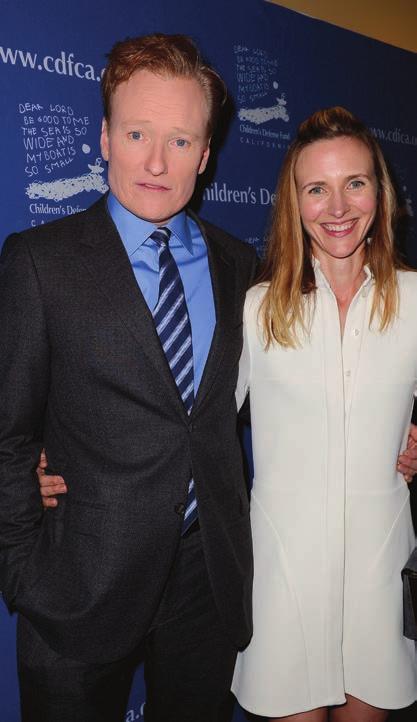 Conan + Liza O'Brien