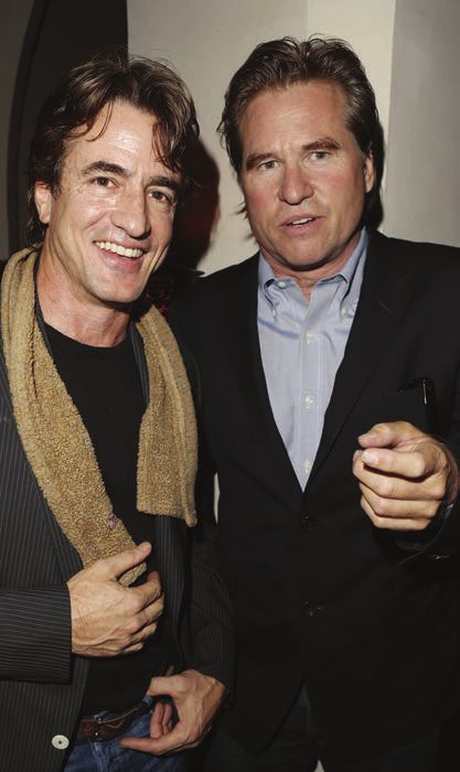Dermont Mulroney and Val Kilmer