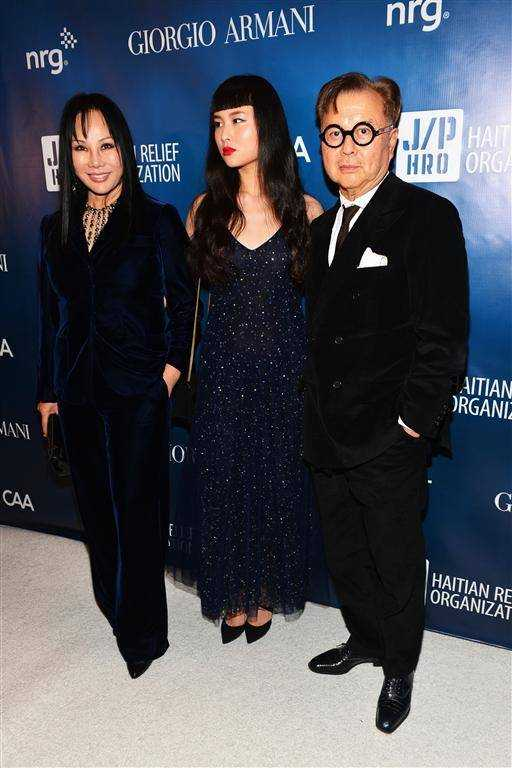 Eva, Asia and Michael Chow