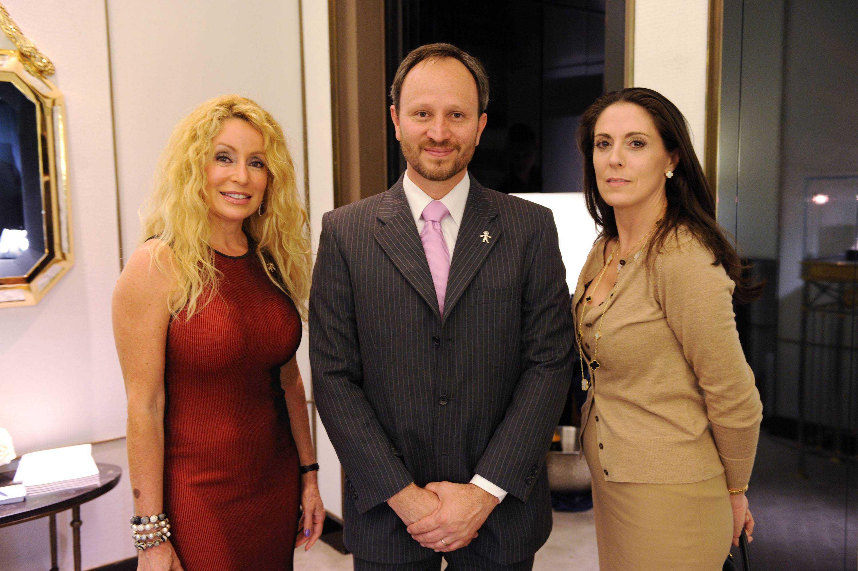 Sylvia Goldenthal, Nelson Hincapie, & Sabine Otamendi