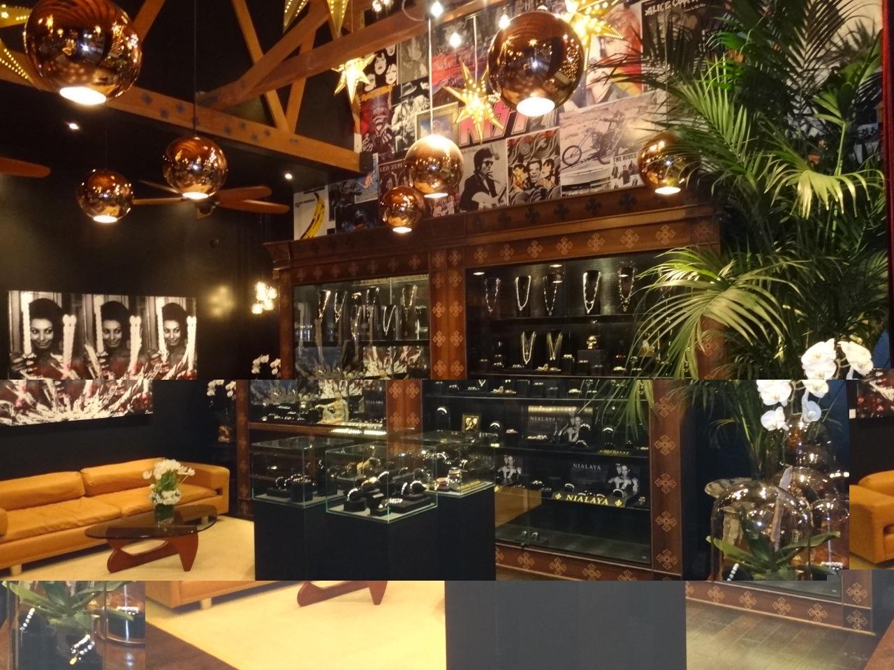 Jannik Nialaya Los Angeles Store