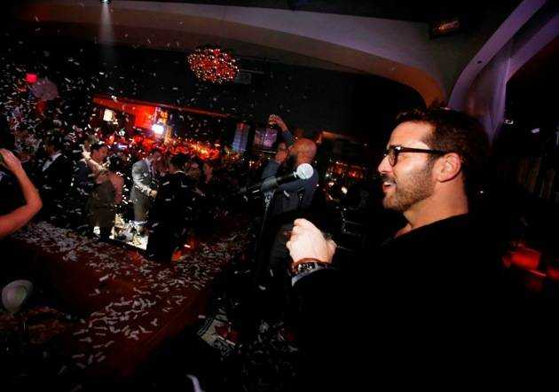 Jeremy Piven and Common Countdown NYE at Hyde Bellagio, Las Vegas 12.31.12