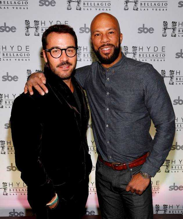 Jeremy Piven and Common at Hyde Bellagio, Las Vegas 12.31.12