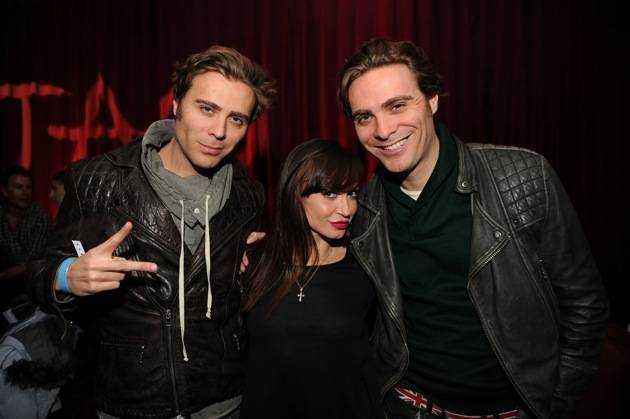 Karina Smirnoff and EC Twins at Marquee + Stella Artois present TAO Nightclub Sundance