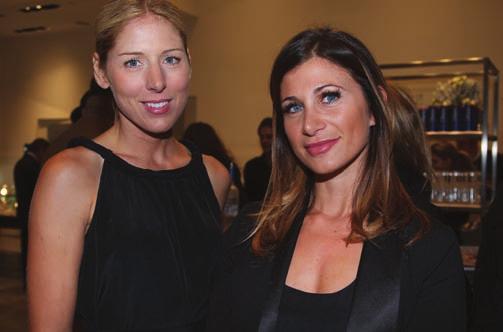 Kristal Hendrickson and LA Editor Laura Schreffler