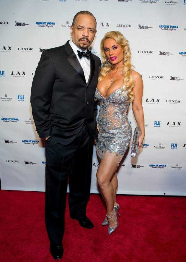 Ice-T and Coco ring in the New Year at LAX Nightclub in Las Vegas, NV
