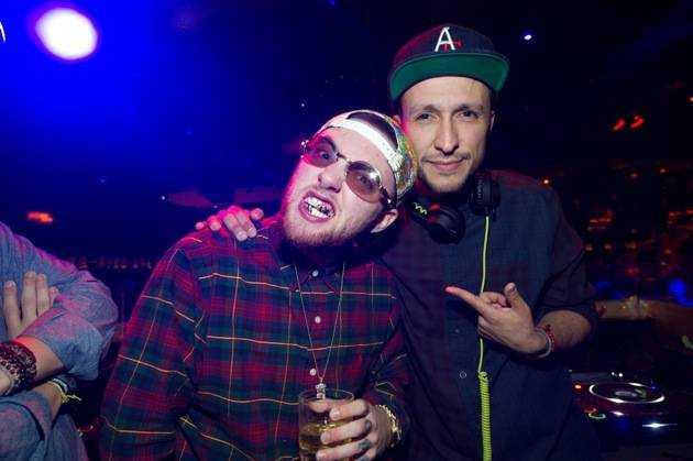 Hip hop artist, Mac Miller at TAO