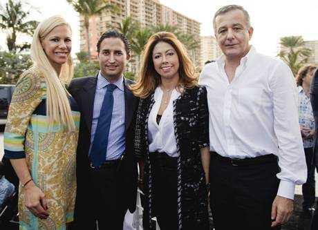 Mariana Grosskopf, Manuel Grosskopf, Monica Venegas, Anastasio Lorente