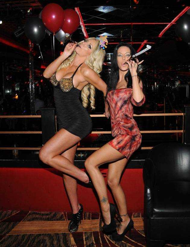Nicolette Shea hosts New Years Eve at Crazy Horse III, Las Vegas, America – 31 Dec 2012