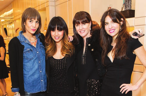 Nina Sargent, Mariquit Ingalla, Allison Speer, Sydney Mannion