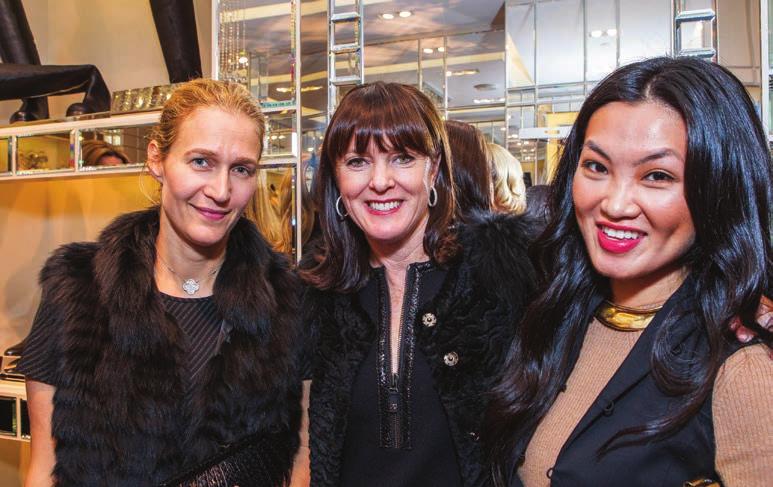 Nina Stanford, Allison Speer, Ching Nola