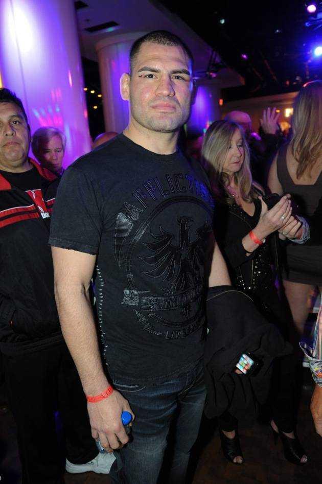 UFC Heaveyweight champion Cain Velasquez at Pure Nightclub