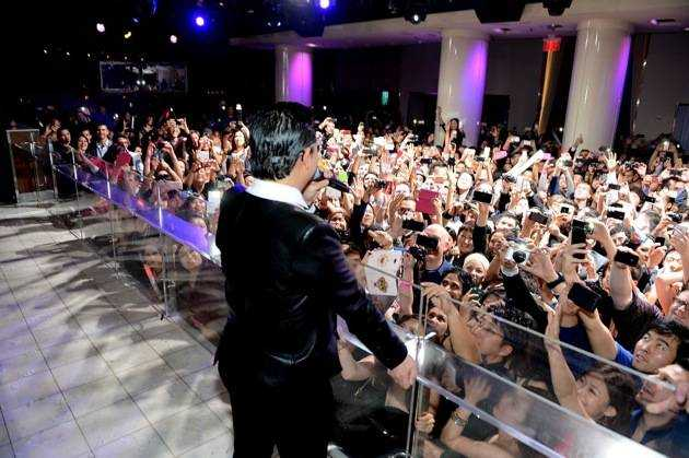 "Korean Superstar PSY  Kicks Off New Year's Eve ""Gangnam Style"" At PURE Nightclub"