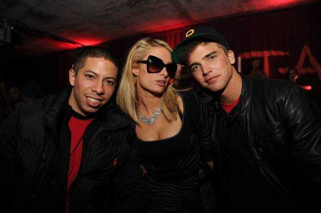 Paris Hilton & River Viiperi at Marquee + Stella Artois present TAO Nightclub Sundance