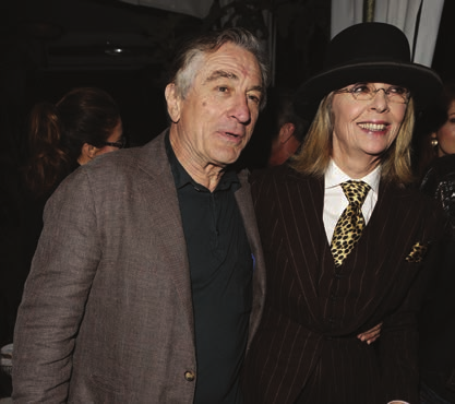 Robert de Niro and Diane Keaton