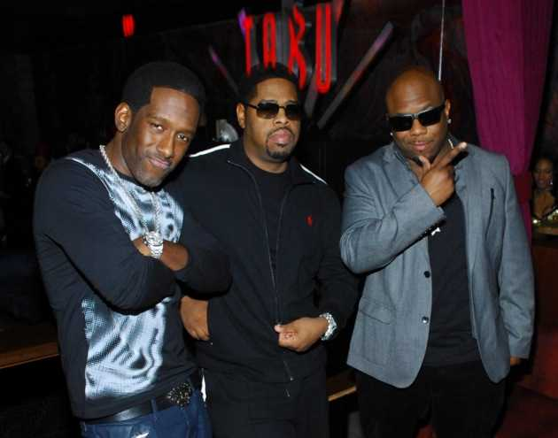Tabú -  Boyz II Men Inside - 12.31.12
