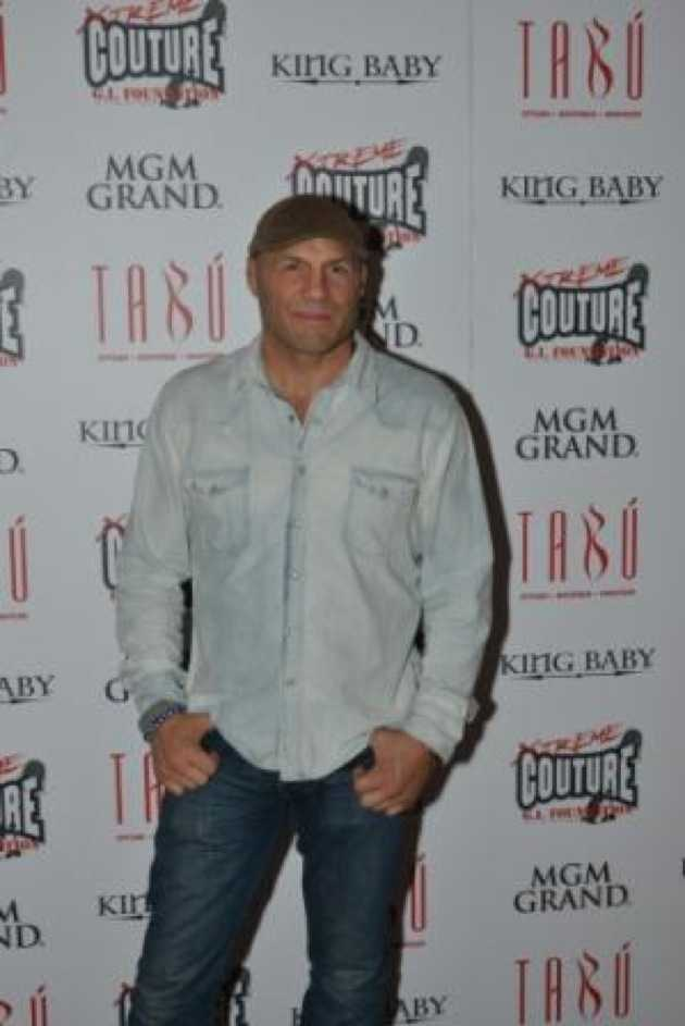 Tabú - Randy Couture on Carpet - 12.28.12