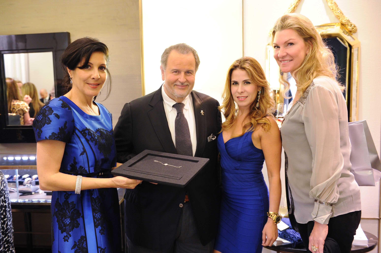 YOLANDA BERKOWITZ, RAUL DE MOLINA, GABRIELLA MARTINEZ, ELIZABETH BERACASA