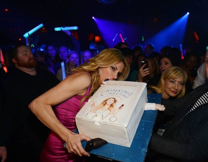 "Brandi Glanville's ""Drinking And Tweeting And Other Brandi Blunders"" Book Release Party At LAVO Nightclub At The Palazzo"