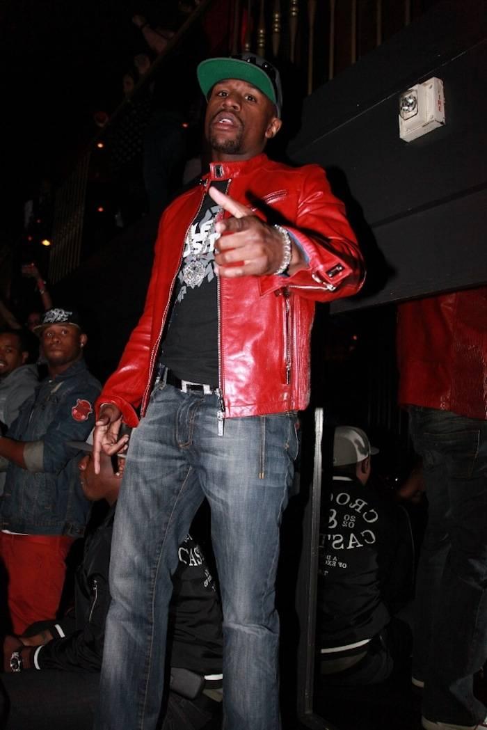 2.24.13 Floyd Mayweather celebrates birthday at Body English Nightclub & Afterhours at Hard Rock Hotel & Casino (2)