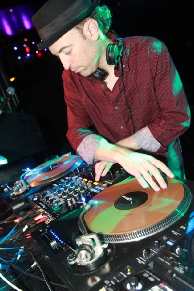 2.3.13 Peanut Butter Wolf at Body English Nightclub & Afterhours, credit Hew Burney