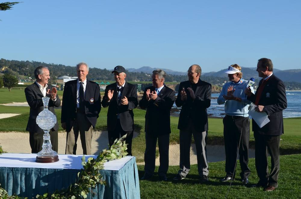 A round of applause to Clint Eastwood, Chairman of the Monterey Peninsula Foundation