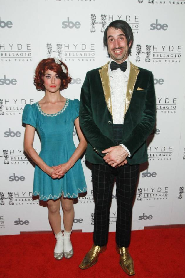 ABSINTHE's The Gazillionaire and Penny Pibbets on Red Carpet at Hyde Bellagio, Las Vegas, 1.29.13