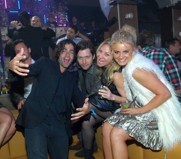 Adrian Grenier parties at Hyde Bellagio, Las Vegas 2.15.13