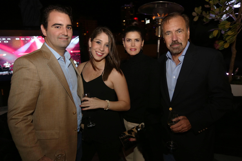 Alex Vadia, Ana Capriles, & Darlene & George Perez