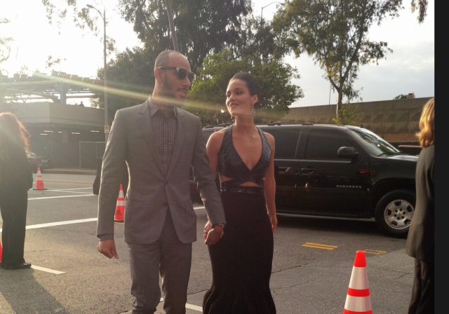 Had a blast out there on the red carpet earlier! —Alicia Keys