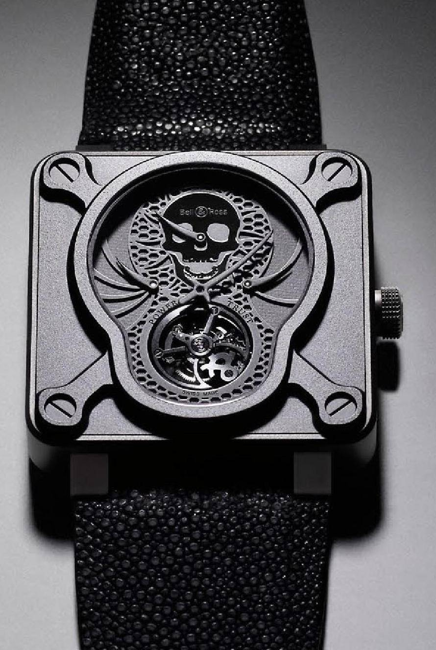 Bell and Ross BR 01 TOURBILLON AIRBORNE