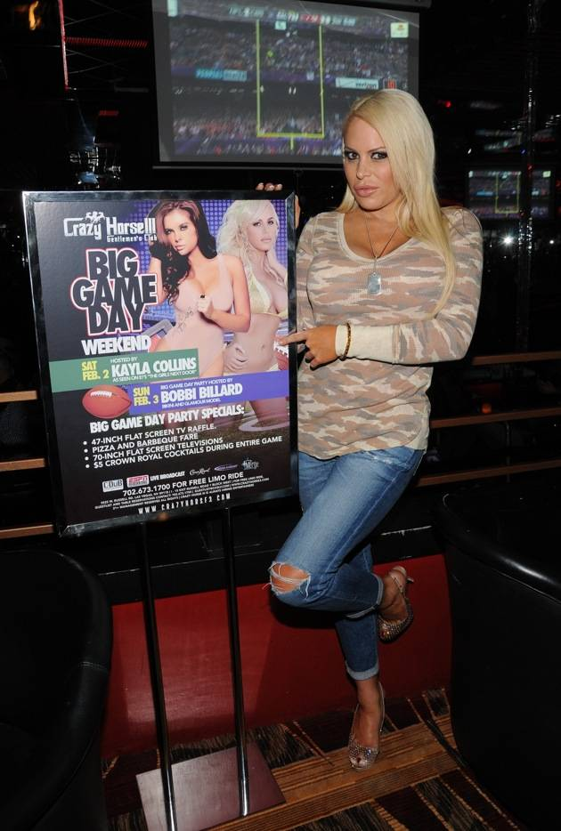 Bobbi Billard with poster